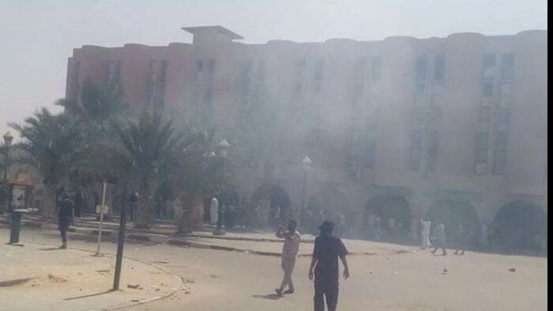 مواجهات بين محتجين والأمن الجزائري