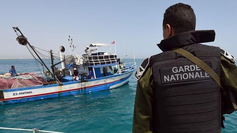 قليبية: إحباط محاولة هجرة غير نظامية لـ34 شخصا في عرض البحر