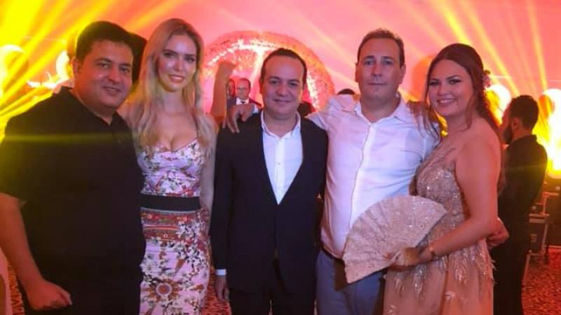 معز بن غربية يحتفل بزفافه