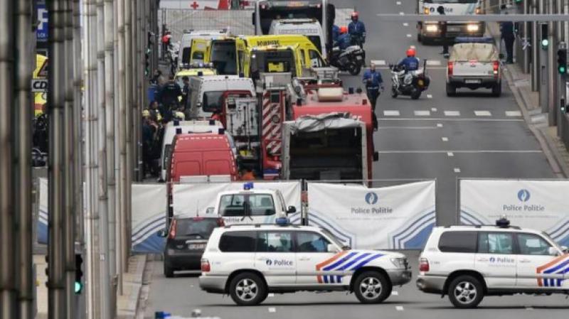 بلجيكيا : إصابة شرطي في عملية طعن ببروكسل