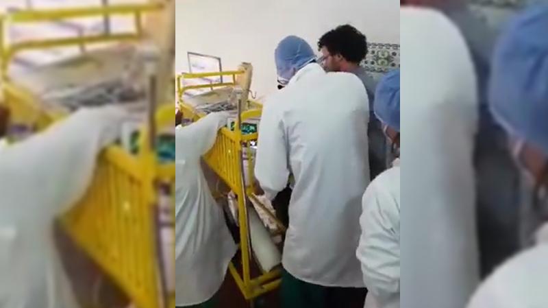 نقل مريض في ظروف كارثية:اخلالات بالجملة وشركة المصاعد في قفص الإتهام