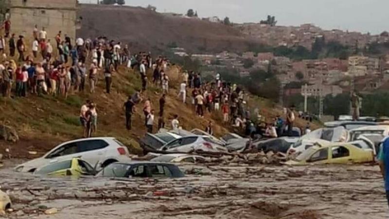 وفيات ومفقودون جراء الفيضانات في قسنطينة بالجزائر
