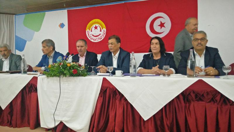 الإضرابات بالقطاع العام في اجتماع الهيئة الإدارية لإتحاد الشغل