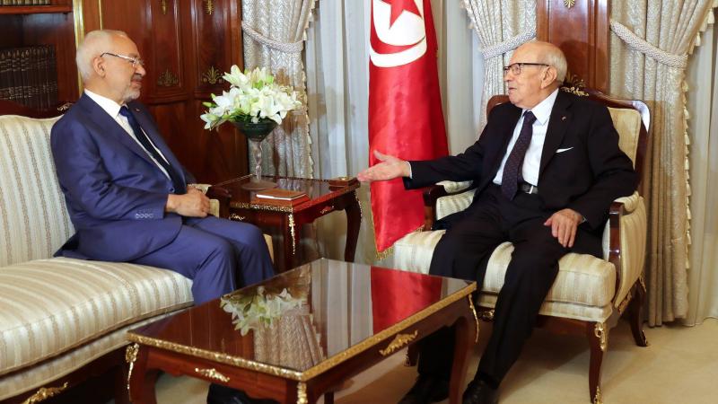 في لقائه بالسبسي : الغنوشي يؤكد على الاستقرار الحكومي والسياسي