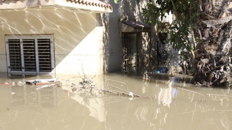 الهوارية: المياه تغمر المنازل... والحماية المدنية تتدخّل