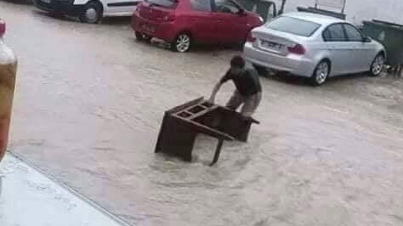 نابل في عزلة بسبب الأمطار.. ووحدات الحماية تتدخل