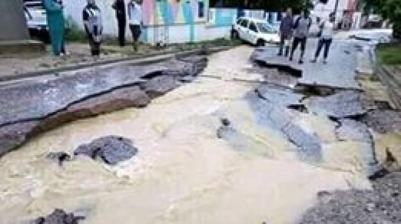الجيش يتدخل في نابل إثر الأمطار الغزيرة