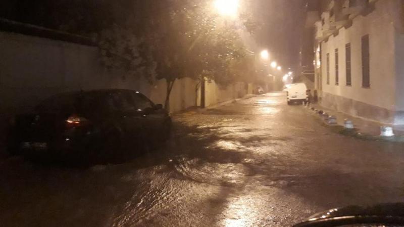 سوسة: مياه الأمطار تغمر بعض أحياء القلعة الكبرى وتتسرب الى عدة منازل