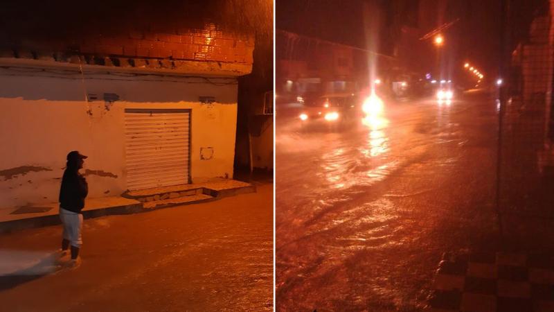سوسة: أمطار في سيدي بوعلي ومواطنون يوجهون نداءات استغاثة