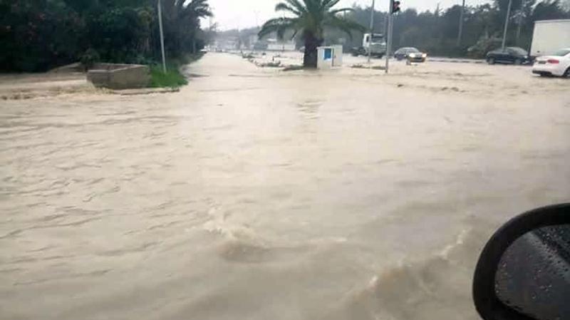 بن عروس : التدخل لشفط مياه الأمطار من وحدات سكنية