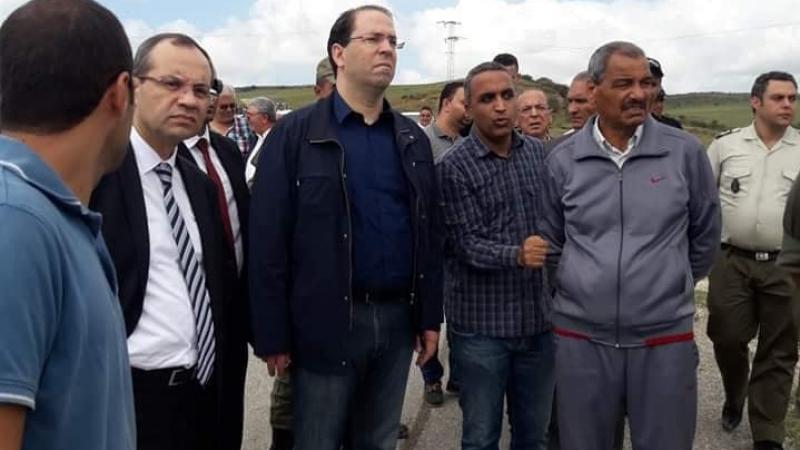 وزير الداخلية يدعو المحتجين إلى فتح الطريق الرابطة بين تونس ونابل