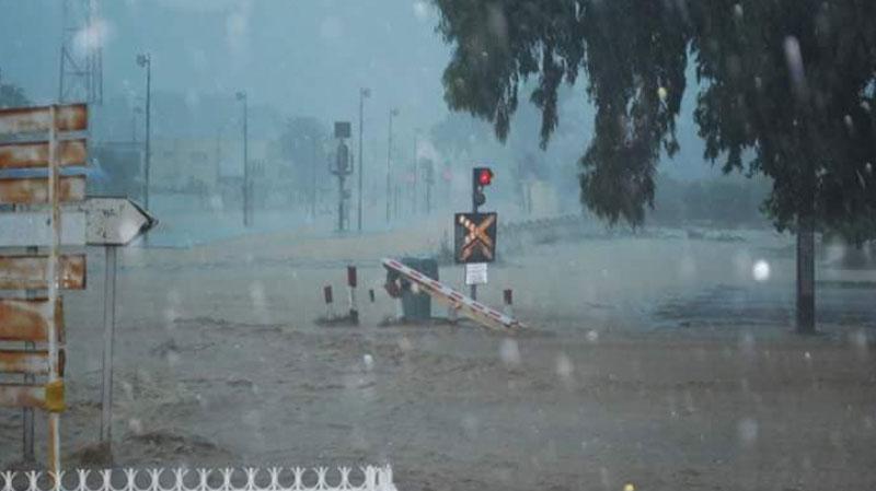 الأمطار تُلحق أضرارا بالغة بالبنية التحتية للسكك الحديدية بنابل