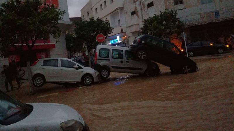 نابل: تدخلات الجيش بعد فيضانات يوم امس