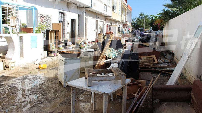 نابل:2500 مسكن تضررت من الفياضانات.. وغدا الشروع في تقديم المساعدات