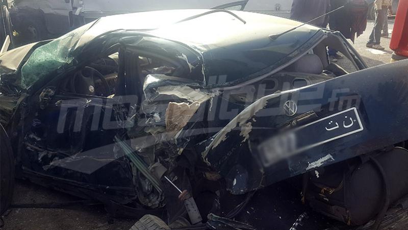 وفاة 7 أشخاص في حادث مرور بزغوان