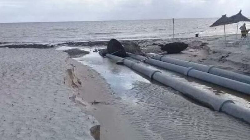 سكب مياه مستعملة في البحر بحمام سوسة: لجنة التوقي من الكوارث توضّح