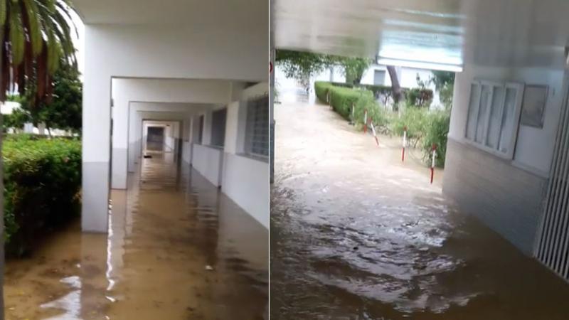 فيضانات نابل: 33 مؤسسة تربوية لحقتها أضرار متفاوتة الخطورة