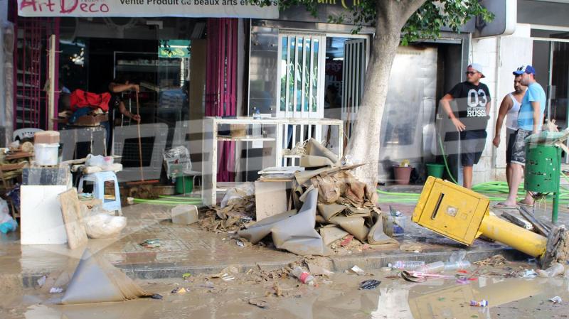 فيضانات نابل: نحو إقرار مشروع قانون استعجالي لتعويض التجار