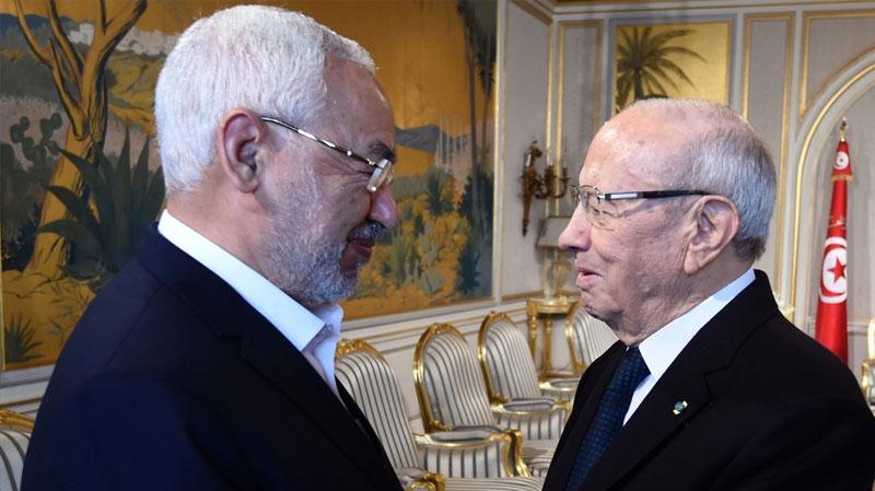 بعد لقاء السبسي بالغنوشي: نداء تونس يؤكّد نهاية التوافق مع النهضة