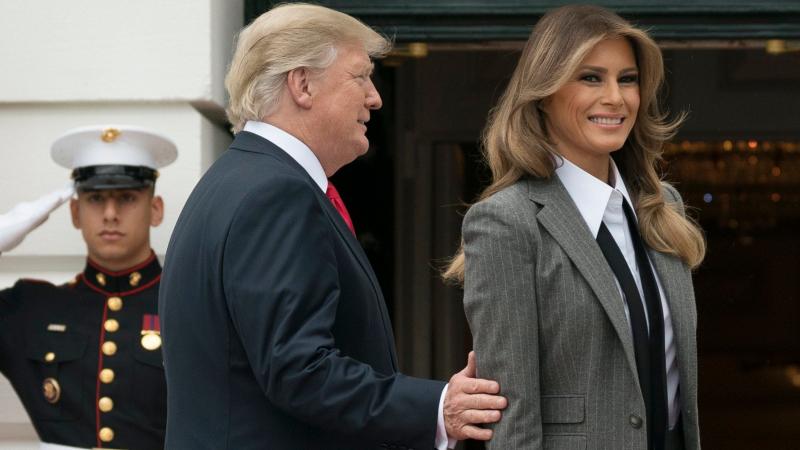 زوجة الرئيس الأمريكي