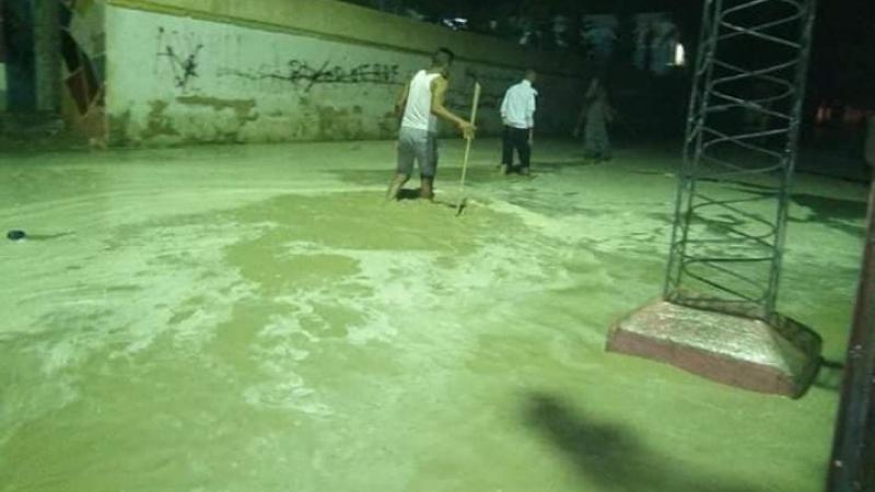 تدخل للحماية المدنية لشفط مياه الأمطار بالرديف
