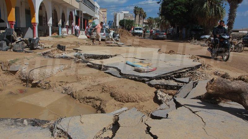 مليار دينار خسائر تونس الناجمة عن الكوارث الطبيعية