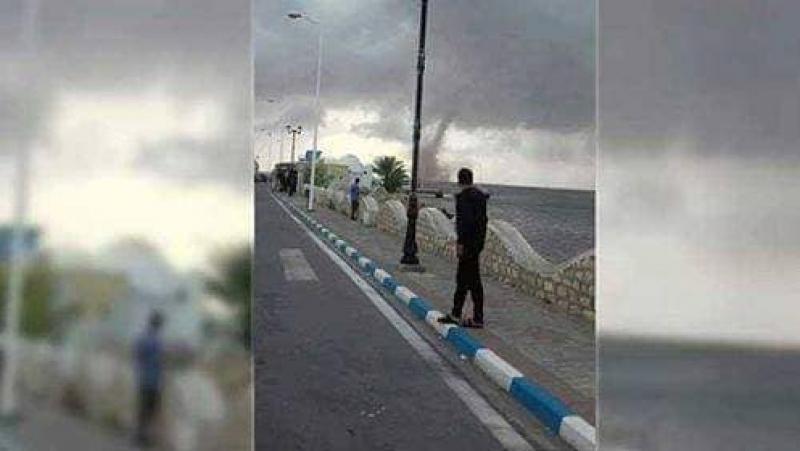 إعصار في سواحل جربة؟