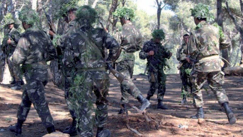 الجيش الجزائري يسترجع ترسانة حربية ويعتقل إرهابيين