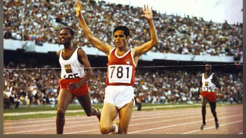 50 سنة على تتويج محمد القمودي بأول ذهبية أولمبية في تاريخ تونس