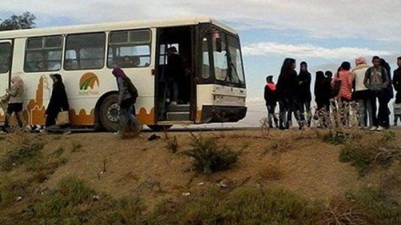 القيروان: سقوط تلميذين من نافذة الحافلة المدرسية