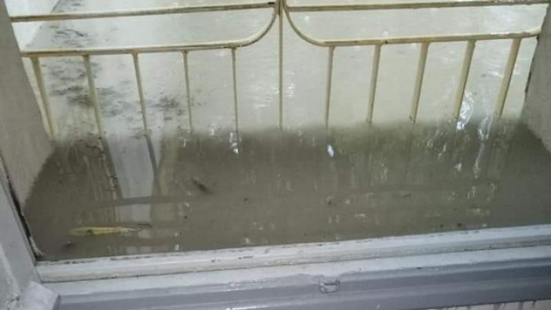 القصرين: مياه الأمطار تغمر الإدارة الجهوية للصحة 