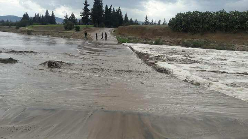 القيروان : دعوةالمواطنينإلى الحذر بسبب السيول وفيضانالأودية