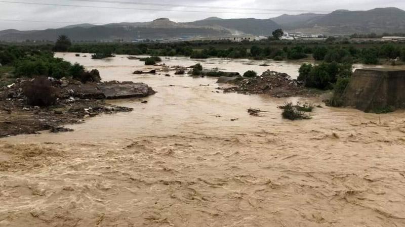 نابل: تصدّع جسر على مستوى الطريق الوطنية رقم 1 في سليمان
