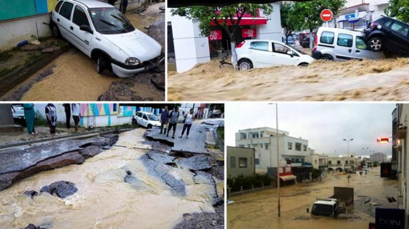 فيضانات نابل: انطلاق أشغال إصلاح البنية التحتية يوم 25 أكتوبر