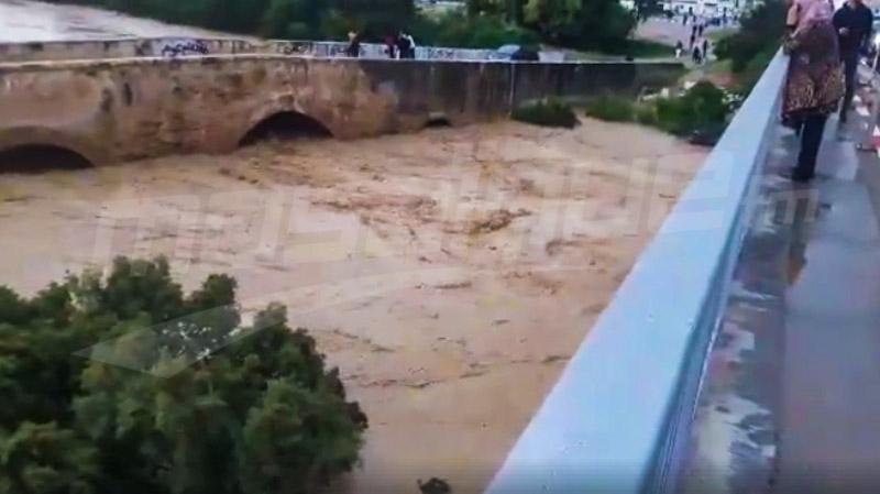 بن عروس: تراجع منسوب المياه بوادي مليان رادس