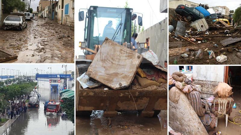 أمطار استثنائية في ولايات الجمهورية: وفيات ومفقودون والأضرار جسيمة