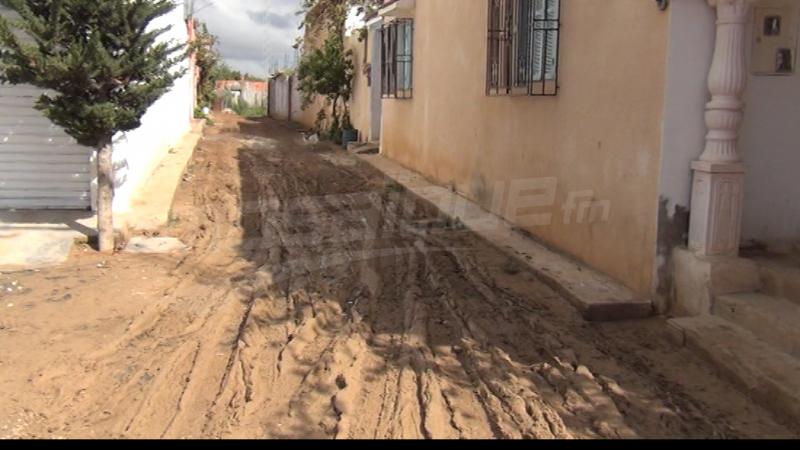 منوبة: الفيضانات مرّت من هنا...
