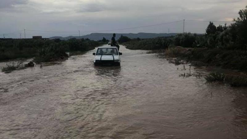 فيضانات في القصرين: تواصل البحث عن المفقود في وادي السخيرة