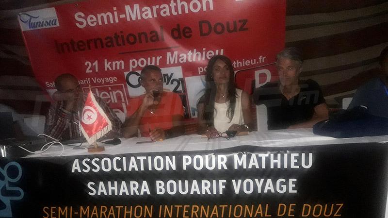 صحراء دوز: مشاركون من جنسيات مختلفة في '21 كلم من أجل ماثيو'