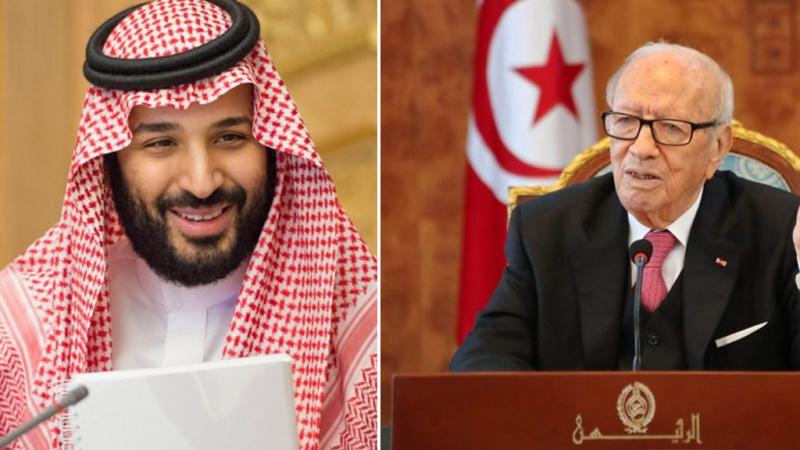 الباجي قايد السبسي-محمد بن سلمان