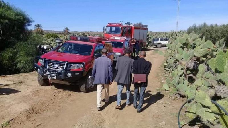 تحديد مكان جثة المفقود في القصرين وتواصل البحث عن مفقود في جندوبة