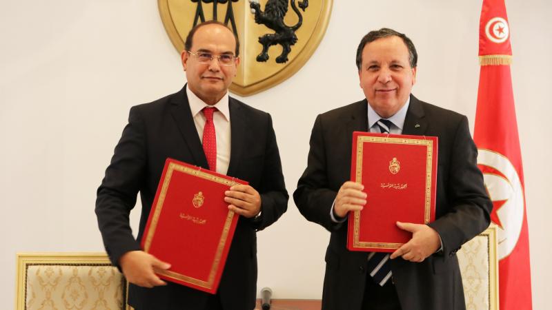 اتفاقية شراكة بين وزارة الشؤون الخارجية والهيئة الوطنية لمكافحة