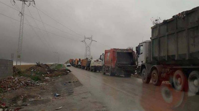 بسبب الأحوال الجوية: صعوبات كبيرة في رفع الفضلات المنزلية بتونس
