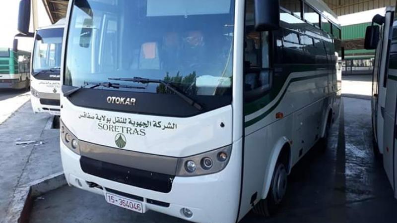 شركة النقل بصفاقس تقتني 15 حافلة صغيرة تركية الصنع