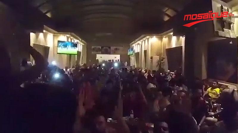 أحباء الترجي يتجمّعون في كورنيش الدوحة بقطر