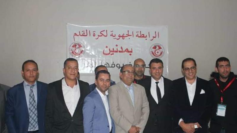 انتخاب الطيب شلوف على رأس الرابطة الجهوية لكرة القدم بمدنين