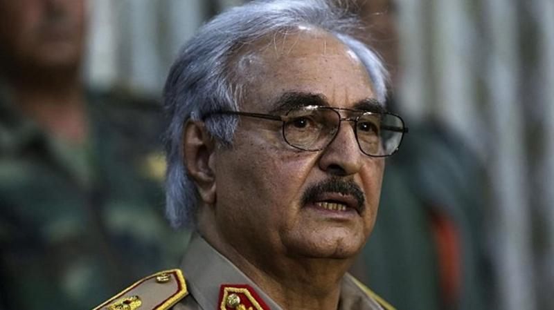 حفتر يعلنعدم مشاركته في مؤتمر باليرمو حول ليبيا