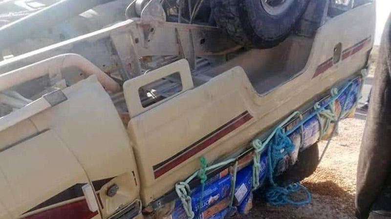تطاوين: حجزصقور تحمل أجهزة لاسلكية داخل سيارة تهريب