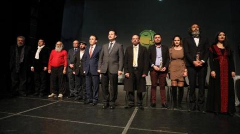 ''الرهوط'' تفوز بالجائزة الذهبية في مهرجان الأردن المسرحي