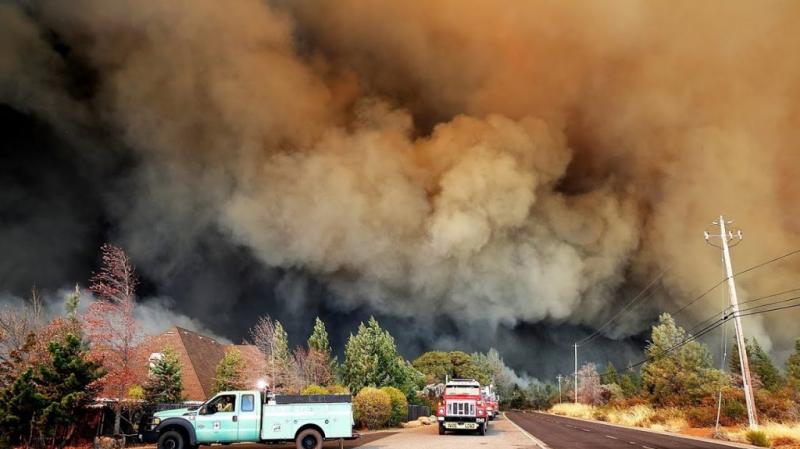 حرائق كاليفورنيا: إرتفاع عدد القتلى ومئات المفقودين